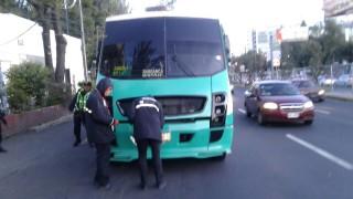 La Secretaría de Movilidad, informa que 26 unidades fueron sancionadas, durante el operativo de revisión a unidades de transporte público en la CDMX