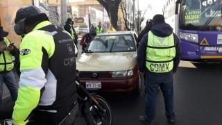 SEMOVI informa que 82 unidades de transporte público e individual fueron sancionadas
