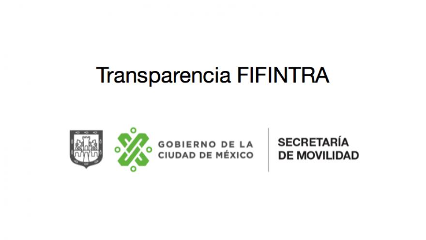 SEMOVI hace públicos los documentos que conforman el archivo histórico del FIFINTRA