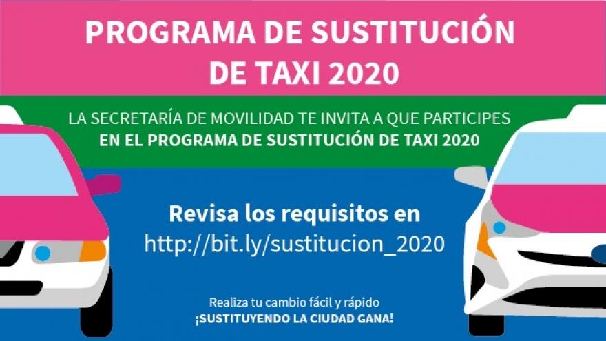 Programa de Sustitución de Taxi 2020
