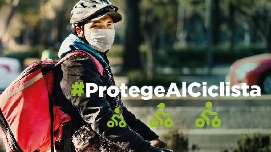 #ProtegeAlCiclista ¡Súmate a cuidar la vida de todas y todos!