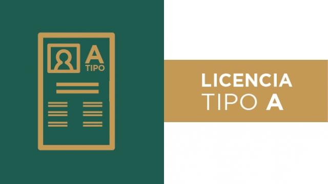 Renovación de licencia para conducir Tipo A